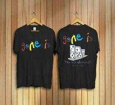 HOT SALE!! GENESIS The Last Domino T-shirt UK Album TOUR Music Concert T Shirt