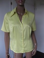 Betty Barclay tolle Bluse 40 kurzarm   gelb