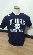 Jimmer Fredette #32 BYU Cougars Basketball Navy T-shirt Medium New NWOT