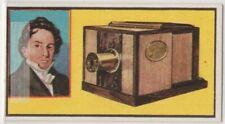 Daguerreotype Process Of Photography Louis Daguerre Inventor Vintage Trade Card