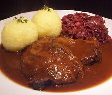 "Jo's "" geschmorte Ochsenbäckchen "" in Portweinjuis aus dem Schmortopf 400 gr."