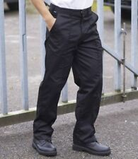 """Work Trousers Pants Sewn In Crease Drivers Labour Protective CLothing 34"""" Waist"""
