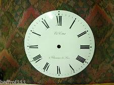 Cadran émail plat réplique horloge,pendule,pendulette régulateur, 102