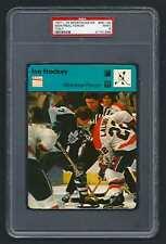 PSA 9 MONTREAL FORUM 1979 Sportscaster Hockey #56-05 DARRYL SITTLER RON LaLONDE
