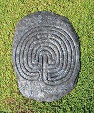 Tintagel Rocky Valley Maze Labyrinth Garden / Indoor Plaque Cornwall