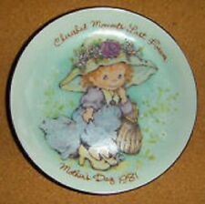 Dress Up Like Mom Mother's Day - Porcelain Mini Plate - 1981