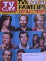 TV's TOP 50 FAMILIES OF ALL TIME 3/10 TV GUIDE Mag