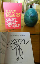 SIGNED Short Short Stories ~ Dave Eggers 1st/1st +proof