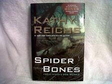 Spider Bones by Kathy Reichs 2010 Hc like new