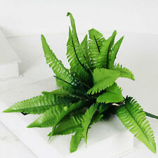 Green Artificial Fern Bouquet Silk Plants Fake Persian Leaves Home Decal 1pc