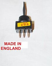 TOGGLE SWITCH 16AMP  12 VOLT  3 TERMINAL 12VMADE IN ENGLAND
