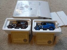 NEW 1931 MODEL A DELUXE DELIVERY VAN & 1931 MODEL A FORD DELUXE TRUDOR 1:32