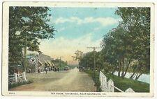 Tea Room Riverside Near Edenburg VA Virginia Texaco Motor Oil sign