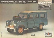 X0747 Polistil - Land Rover - Pubblicità del 1977 - Vintage advertising