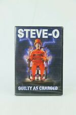 2016 Comedy Dynamics STEVE-O Guilty as Charged DVD nos NEW ALL NTSC