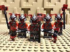 LEGO Ninjago Lot of 5 Vermillion warriors Slackjaw mini figures 70621