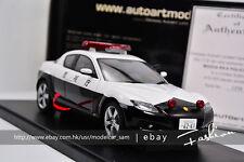 AutoArt 1:18 Mazda RX-8 police car