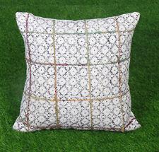 Dari Embroidered Cushion Cover Cotton Bohemian Pillow Cover Decorative Throw