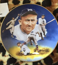 "Hackett American Collector Plate ""Ty Cobb Edition"" 1986 ❤️❤️❤️"