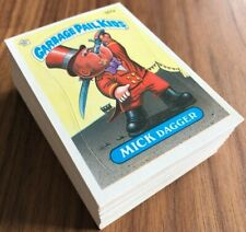 1986 Topps gpk OS5 Garbage Pail Kids оригинал 5 -й серии 5, полный 88-карта комплект