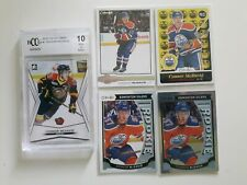 Lot of 5 Connor Mcdavid Rookie Cards-OPC Glossy+Marquee+Rainbow+RETRO+ITG-10