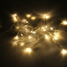 happium - de pilas blanco cálido 100 LED guirnalda de Luces Cuerda 10m