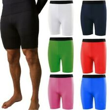 Mens Base Layer Shorts Compression Sports Stretch Under Wear Thermal Gym Armour