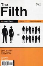 THE FILTH (2002) 1-13 COMPLETE SET/LOT GRANT MORRISON CHRIS WESTON DC VERTIGO