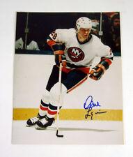 Dave Langevin Signed 8 x 10 Photo Islanders Auto