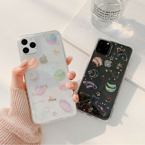 Shockproof Soft Silicone Space Planet Case Cover For iPhone 11 Pro Max Xs XR 7 8