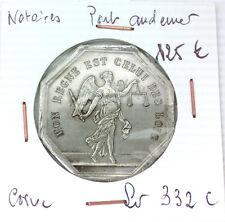 JETON NOTAIRES - PONT AUDEMER - POINÇON CORNE- LEROUGE 332 C