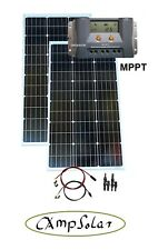 200W Solaranlage MPPT Laderegler Solarset 12V Solarmodul Wohnmobil Garten