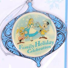 Disney Cast Member Family Holiday Celebration Alice In Wonderland Ornament