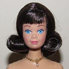 Campus Sweet Shop Midge Nude Doll w/ Necklace, Stand, COA Vintage Repro Barbie