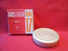 Bobine ORWO Chrom UK17 Umkehr-Kunstlicht-Film 16mm. 30,5m. Neu. Ohne Garantie
