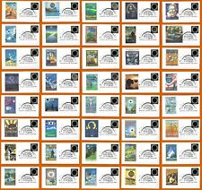 Complete Set of 40 First Day Covers. Great American Total Eclipse of the Sun