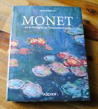 Livre MONET ou le triomphe de l'impressionnisme éd. TASCHEN NEUF sous blister VF