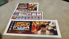(Backlit) HYPER Street Fighter II 2 Marquee Art Set Capcom CPS2 Jamma