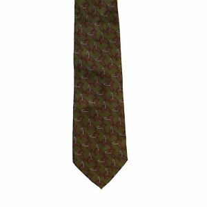 GUCCI Multicoloured Silk Abstract Pattern Tie