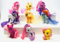 Mixed My Little Pony G4 Toys w/ Mane 6 and Other Friends- Lot of 9 Ponies