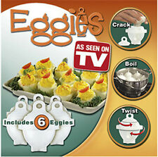 7pcs/set Hard Boil Eggs Cooker - Egglettes Egg Cooker - Set of 6 Eggies