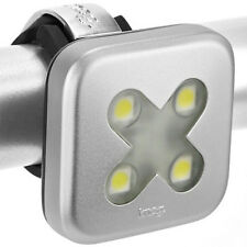 Knog Blinder 4 Bicycle LED Headlight Silver Cross - Brand New