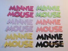 Minnie  Mouse Titles--------DISNEY------Cricut Die Cuts-----Worldwide