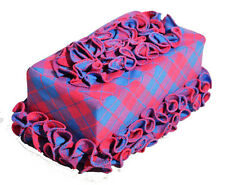 Tissue Box Cover handmade ruffle decor 05