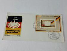 25 Jahre Bundesrepublik Deutschland Post Marked 1974 Envelope unused