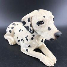 Vtg Dalmatian Dog Figurine 10� Sandicast by Sandra Brue Collectible Sculpture