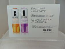 CLINIQUE Fresh Pressed Daily & Overnight Boosters - Vitamins C & A