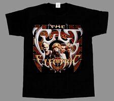 THE CULT ELECTRIC'87 HARD GOTH ROCK U2 INXS SHORT - LONG SLEEVE BLACK T-SHIRT