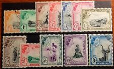 SWAZILAND 1956 DEFINITIVES SG53/64 SUPERB USED CAT £100