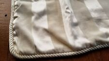 Ivory Pillow sham with Fancy Roping Trim Edge